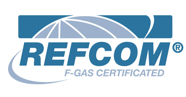 refcom logo, the uk's number one provider of f-gas certification